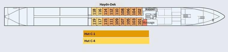 MS Amadeus Queen Haydn Dek