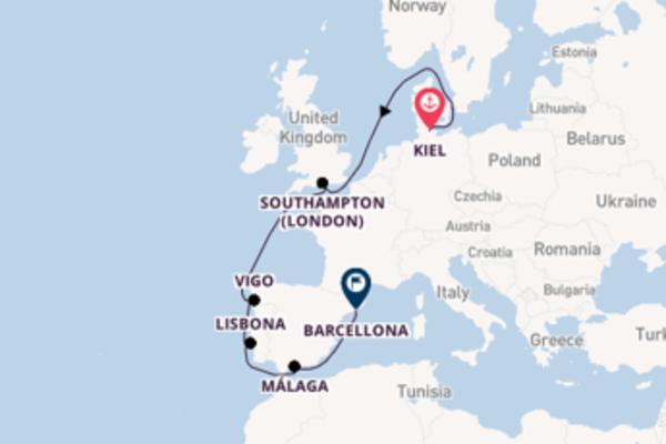 Non perdere Vigo partendo da Kiel