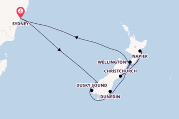 Großartige Kreuzfahrt über Doubtful Sound ab Sydney