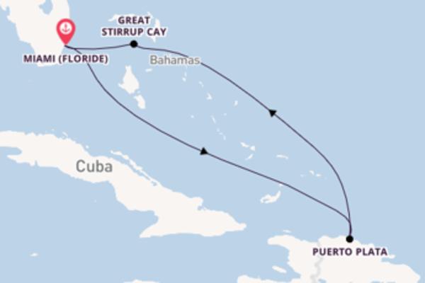 Belle balade de 6 jours au départ de Miami