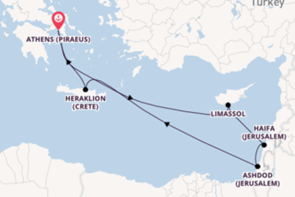 11 day cruise with the Azamara Pursuit to Athens
