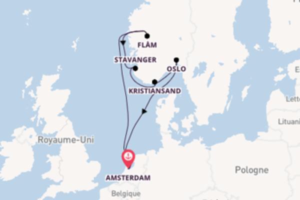 Charmante balade de 8 jours à bord du bateau Ryndam