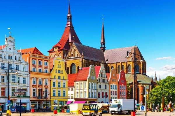 Rostock, Warnemünde, Duitsland