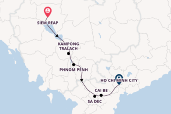 Sailing with CroisiEurope from Siem Reap to Ho Chi Minh City