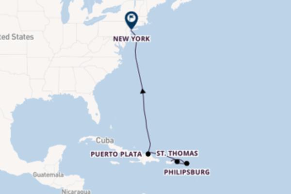 Cruise met Norwegian Cruise Line naar het memorabele New York