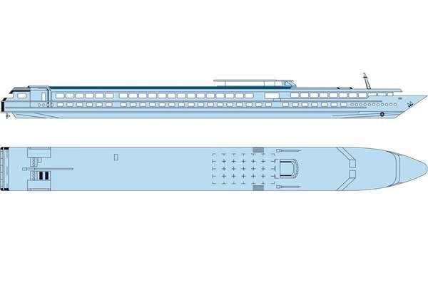 MS Rhône Princess Deck 3 Sonnendeck