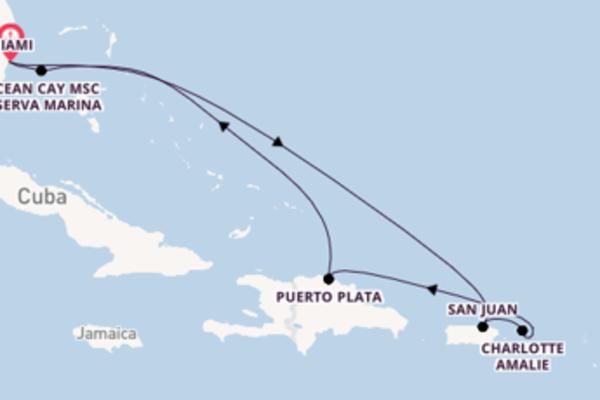 Lasciati affascinare da Puerto Plata arrivando a Miami