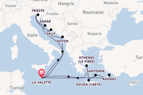 15 jours pour découvrir Thira (Santorin) au départ de La Valette