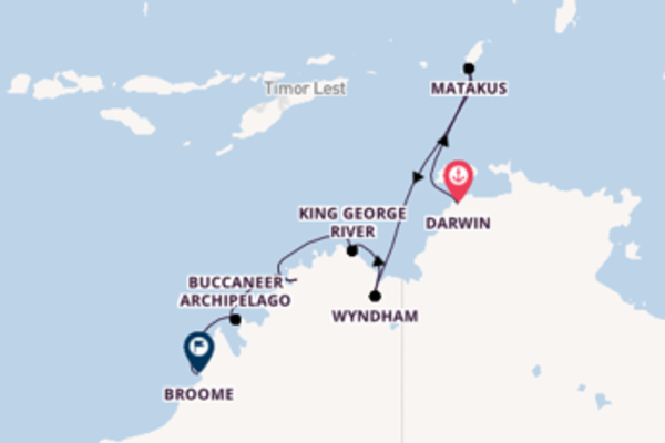 Cruising with Silversea from Darwin to Broome