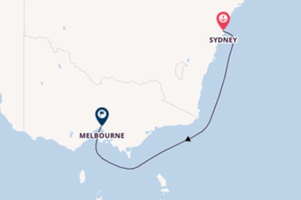 3-tägige Kreuzfahrt ab Sydney