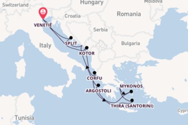 10-daagse reis naar Venetië