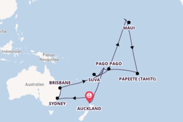 Auckland und Kailua-Kona (Hawaii) entdecken
