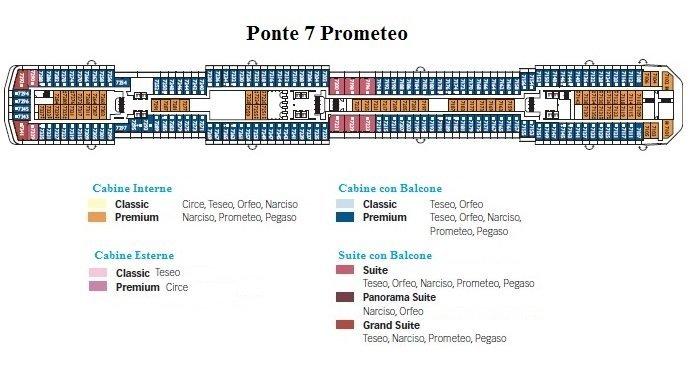 Costa mediterranea imperdibili crociere for Costa favolosa ponti