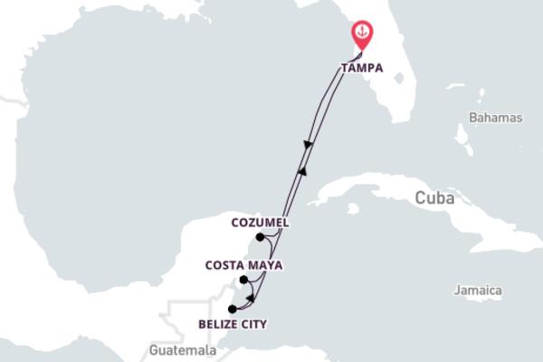 Colorful Belize City Excursion with Carnival Legend