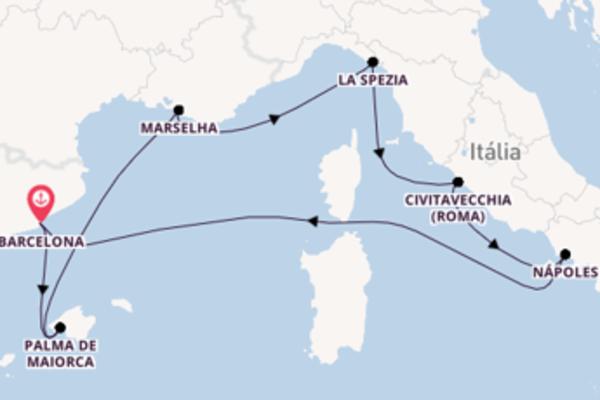 Épica viagem de 8 dias a bordo do Harmony of the Seas