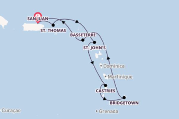 In 8 dagen naar San Juan