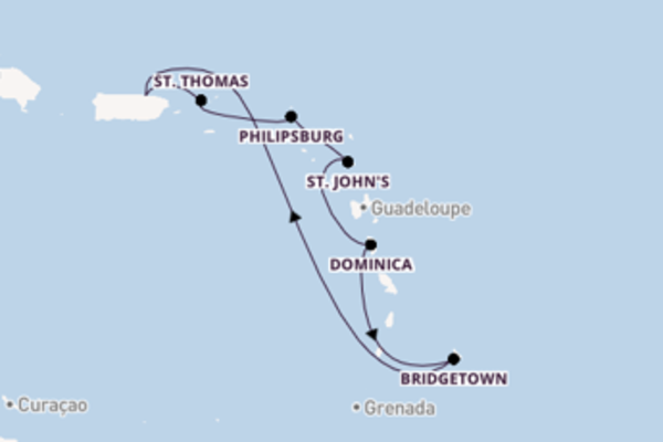 8 day cruise with the Carnival Fascination to San Juan