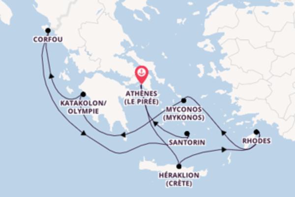 Charmante balade à bord du bateau Norwegian Jade