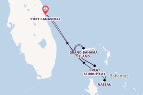 Merveilleuse virée de 5 jours depuis Port Canaveral