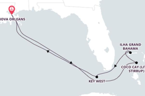 Sublime cruzeiro até Nova Orleans