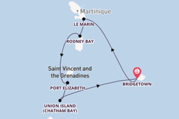 Erkunden Sie Union Island (Chatham Bay) ab Bridgetown