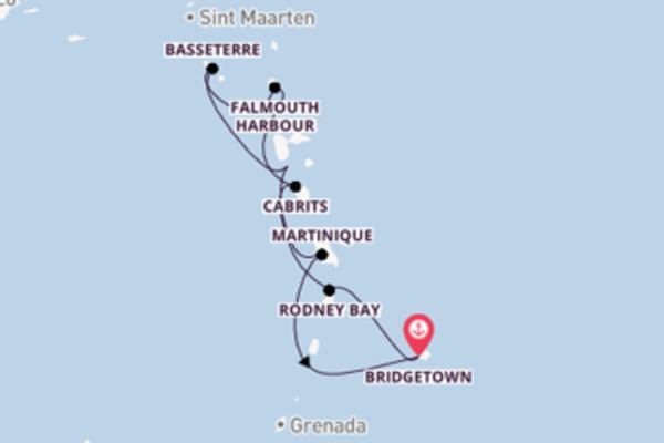 7 Nächte Windward Inseln