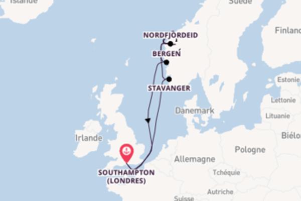 Sublime croisière avec P&O Cruises pendant 13 jours