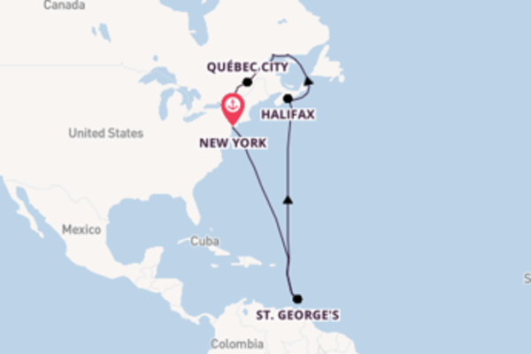 11 day voyage to Montreal from New York