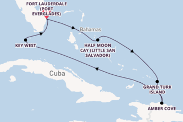 Journey with Holland America Line from Fort Lauderdale