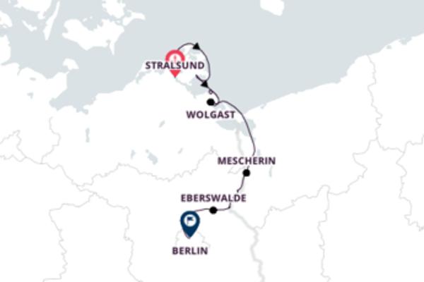 Mit Rad & Schiff nach Berlin