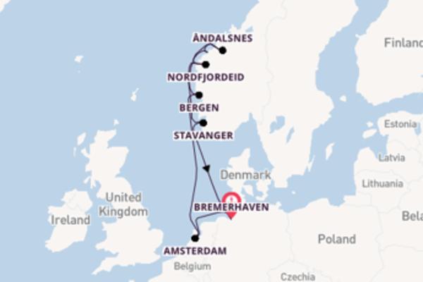 Splendido viaggio di 10 giorni verso Bremerhaven