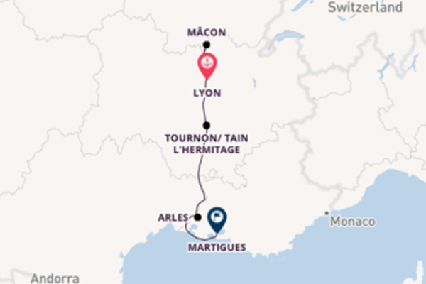 7 day expedition from Lyon