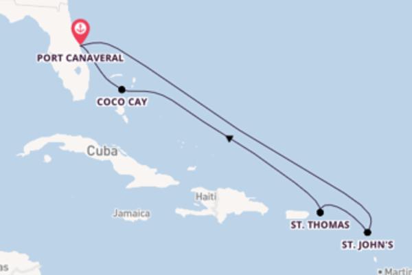 8-daagse cruise met de Harmony of the Seas® vanuit Port Canaveral