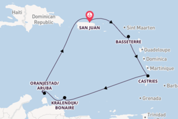 Sail with Norwegian Cruise Line from San Juan