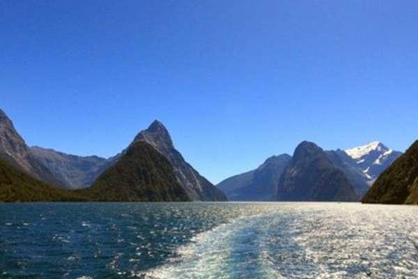 Breaksea Sound, New Zealand