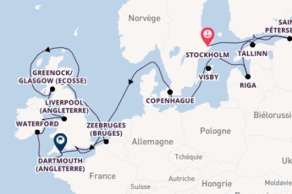 Divine croisière avec Oceania Cruises pendant 21 jours