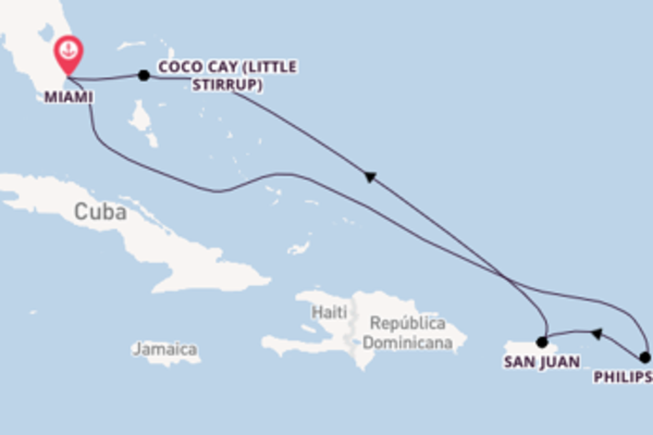 Relaxante viagem com a Royal Caribbean