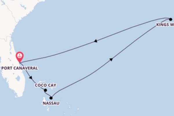 Ga mee op de Mariner of the Seas® naar Port Canaveral