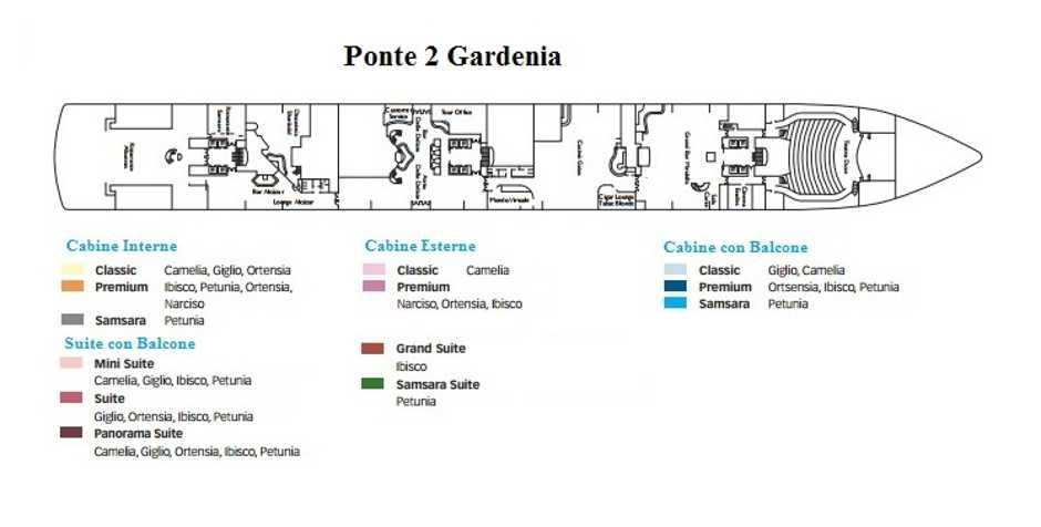 Tra caraibi ed america centrale costa deliziosa costa for Costa deliziosa ponti