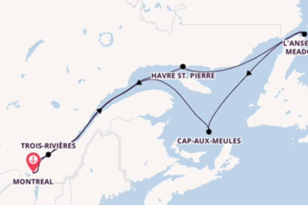 Bezichtig Saint-Pierre met Seabourn
