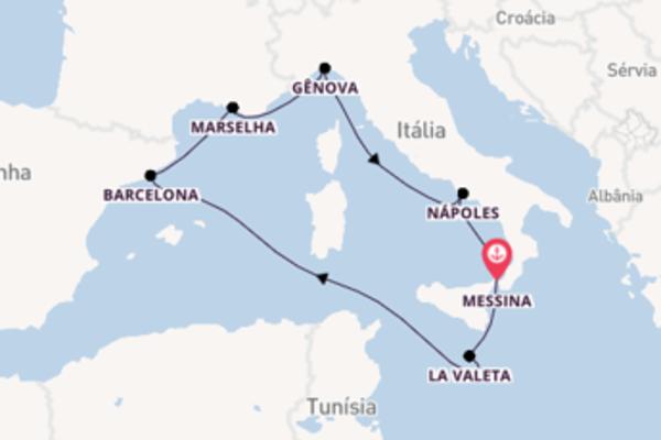 Cruzeiro de 8 dias a bordo do MSC Seashore