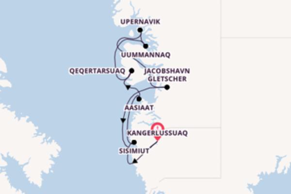 10 Tage Grönland Reise