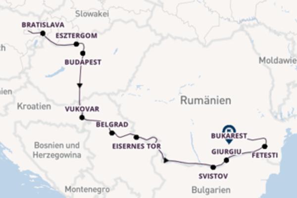 1.200 Meilen entlang der Donau