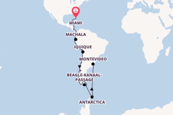 Ushuaia beleven met de Seabourn Quest