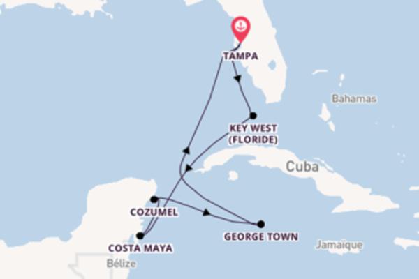 Magnifique balade de 8 jours pour découvrir Key West