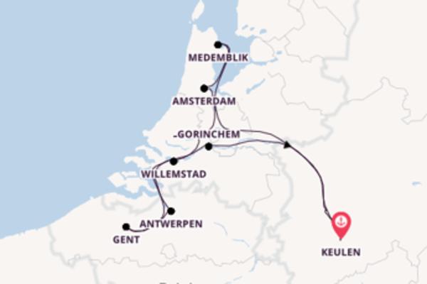 Ontdek Willemstad met Phoenix Cruises