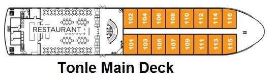 APT La Marguerite Tonle Main Deck
