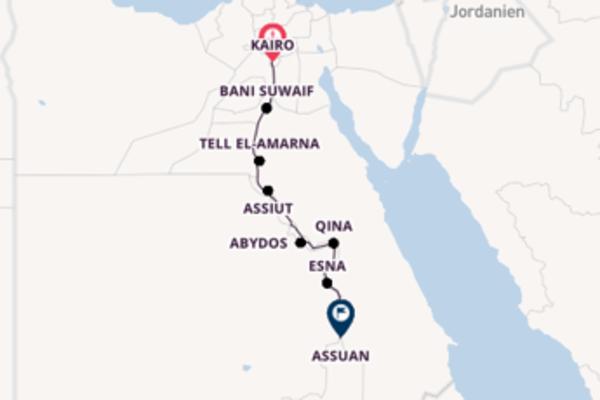 Durch das Land der Pharaonen ab Kairo