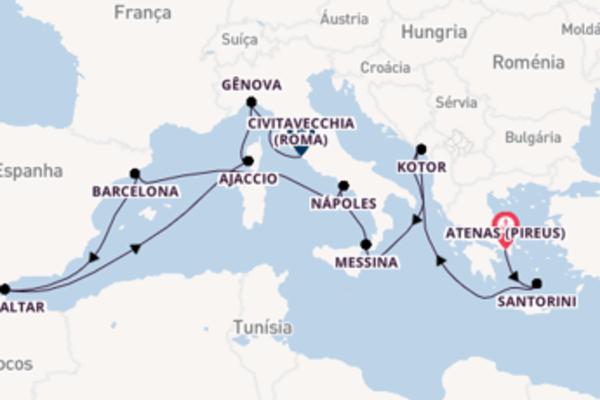 Navegando a bordo do Discovery Princess por 15 dias