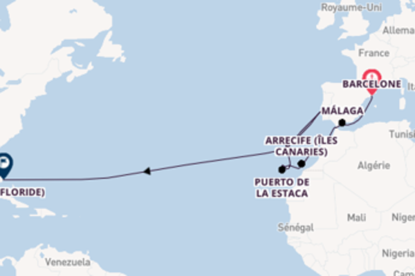 27 jours pour découvrir Tanger à bord du beateau Seabourn Sojourn